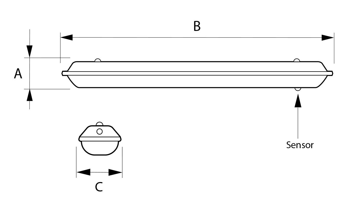 Circuito Tubo Led : Led tubo lámparas exteriores de pared de simes architonic