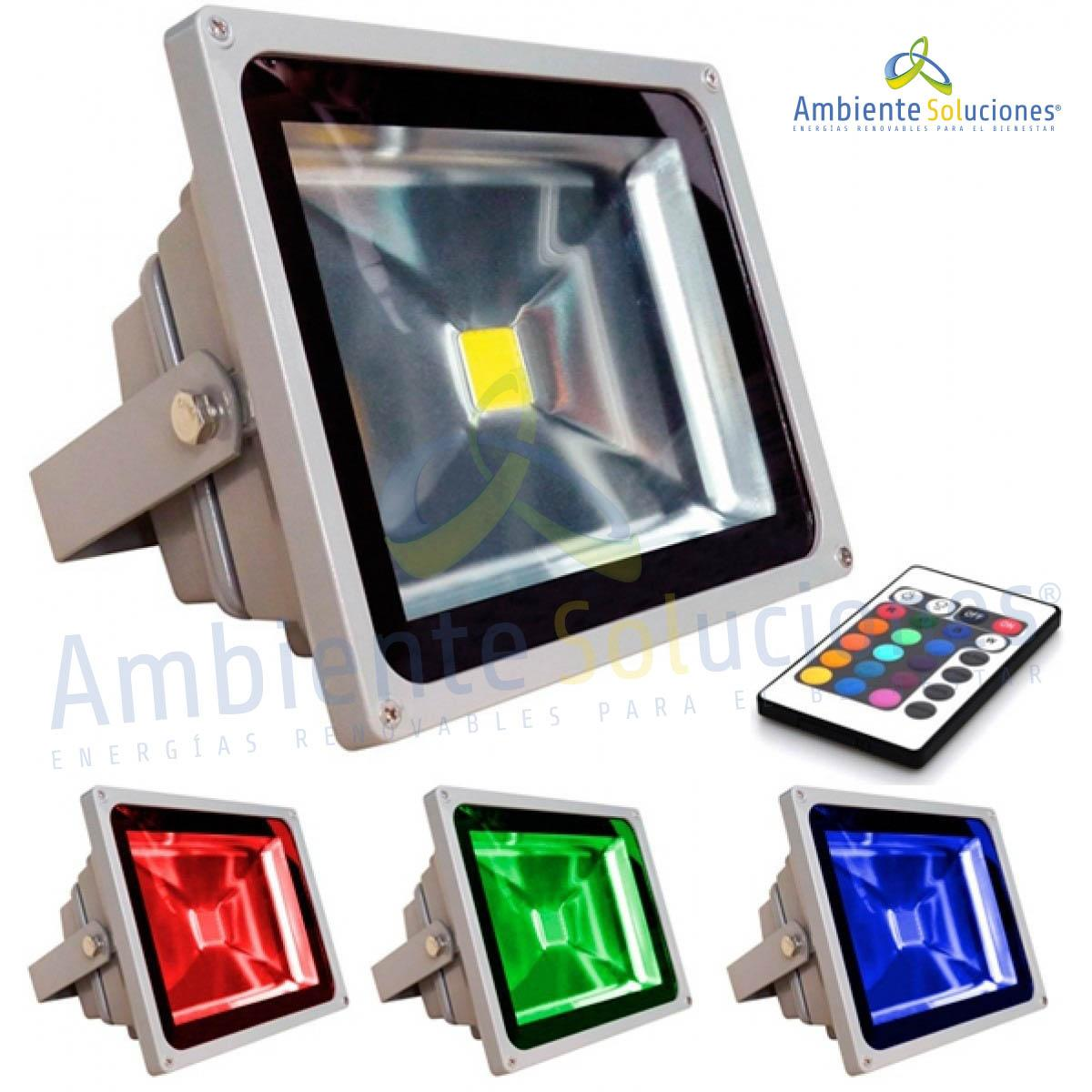 REFLECTOR LED DE 30W RGB