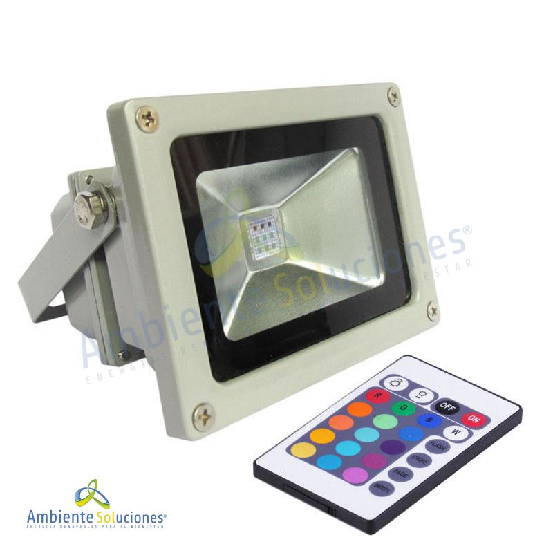 REFLECTOR LED DE 10W RGB
