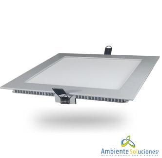 PANEL LED DE INCRUSTAR CUADRADO DE 12W