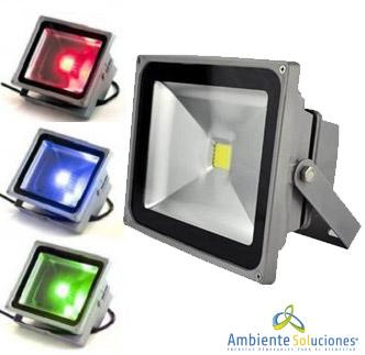 REFLECTOR LED HORIZONTAL DE 30W MONOCOLOR
