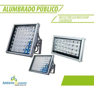 REFLECTOR LED MULTICHIP CUADRADO 90 W
