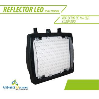 REFLECTOR DE 160 LED CUADRADO