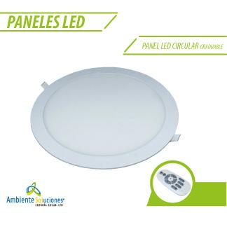 PANEL LED CIRCULAR GRADUABLE 22W