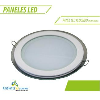 PANEL LED REDONDO MULTITONO 12W