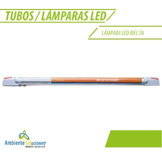 LÁMPARA LED RIEL T8 9W