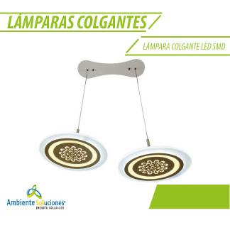 LÁMPARA COLGANTE LED SMD 60W