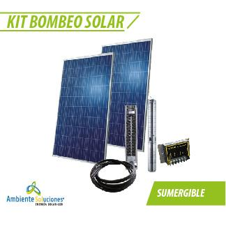 KIT BOMBEO SOLAR  #1 SUMERGIBLE