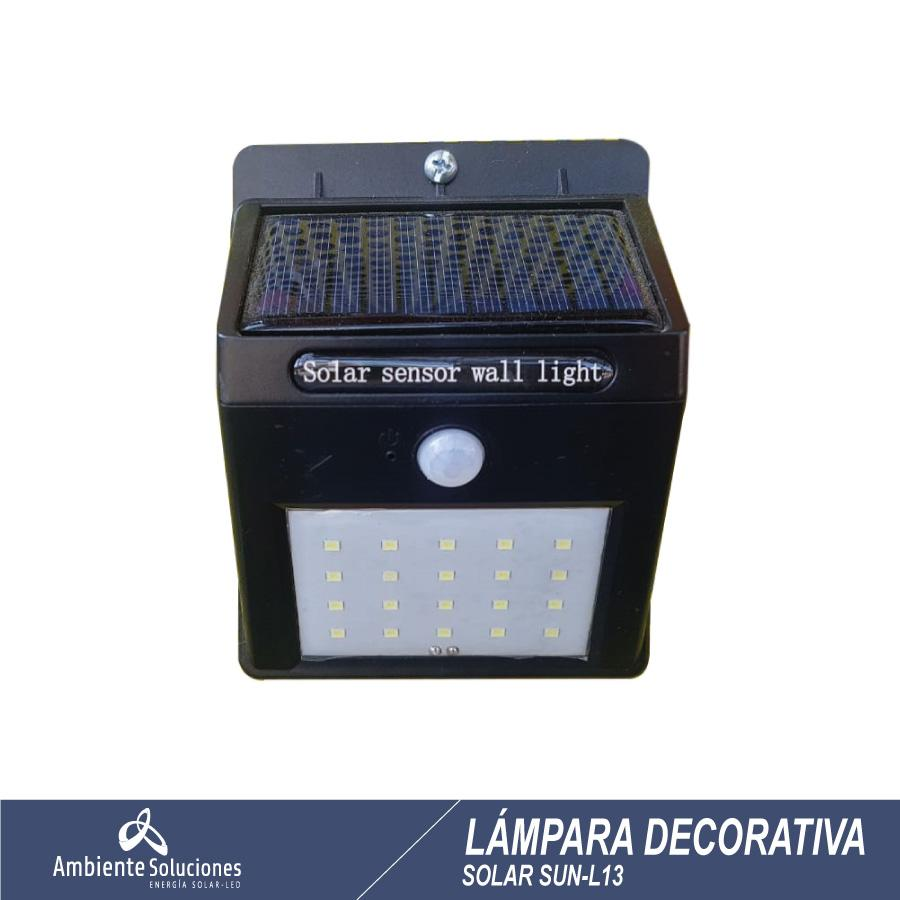Lampara Solar Decorativa Sun-L13