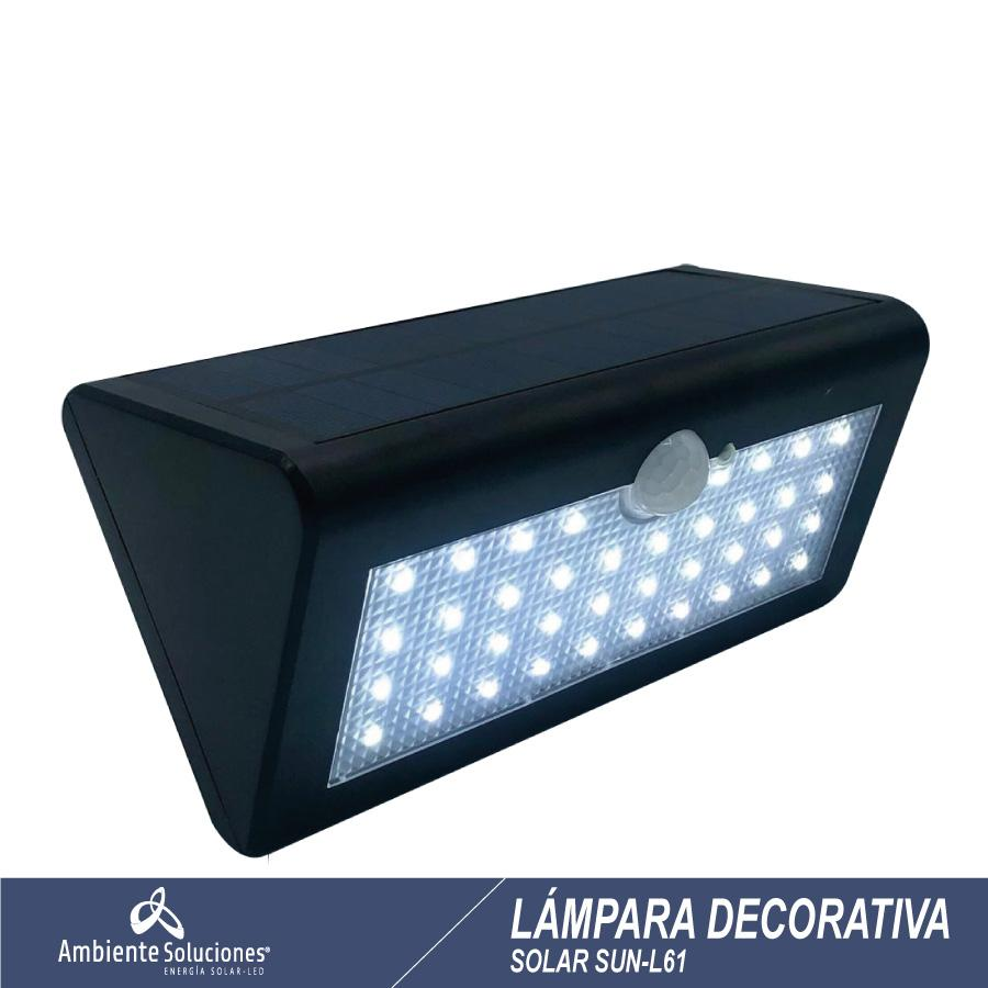 Lampara Decorativa Solar Sun - L61