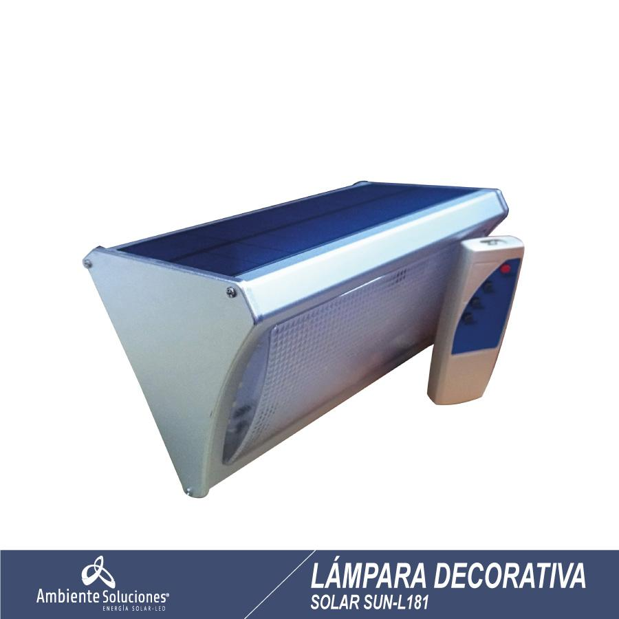 Lampara  Solar  Decorativa Sun - L181